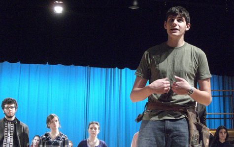 "Students Get Ready for Fall Musical ""Working"""