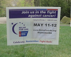 Hopkinton Community Plans for the 6th Relay for Life