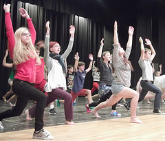 HHS Drama Prepares for Fall Musical