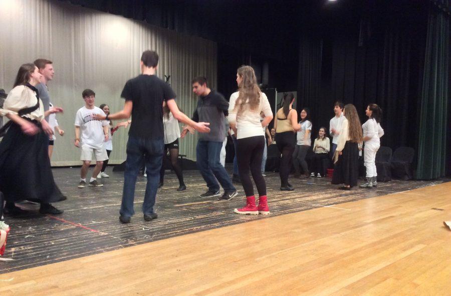 HHS Drama Ensemble Performs Spoon River Anthology