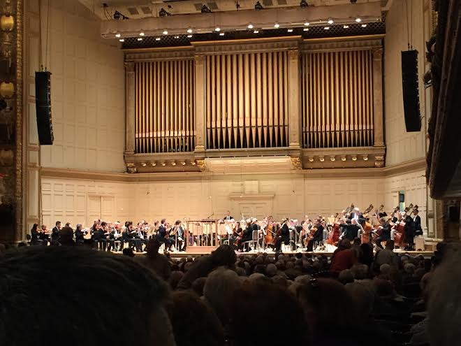 Band, Chorus, and Orchestra Students Attend Symphony Hall
