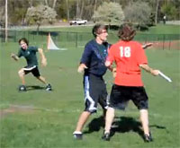 HHS frisbee game