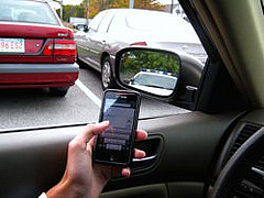 New legislation has outlawed texting while operating a motor vehicle for drivers of any age. Photo by Mike Ronan