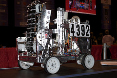 HHS Team 4392 Robot. Team supplied photo.