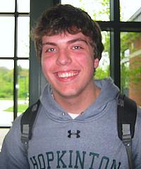 Junior, Justin Diercks. Photo by Casey Reactor