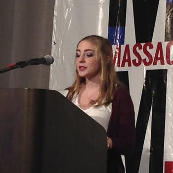 HHS Senior Ashley Olafsen Wows MassCUE Crowd