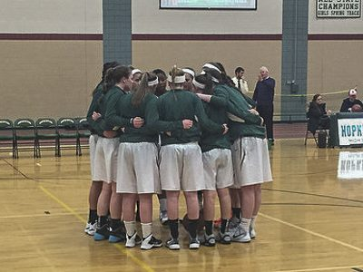 HHS Girls Varsity Basketball give their all against Westwood