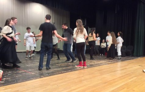 HHS Drama Ensemble Performs Spoon River Anthology