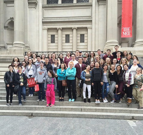 Students Visit the Metropolitan Museum of Art