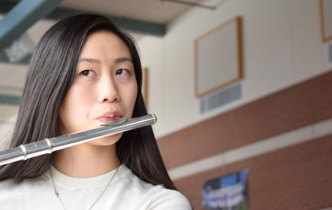 Photo: Flautist Rachel Chen