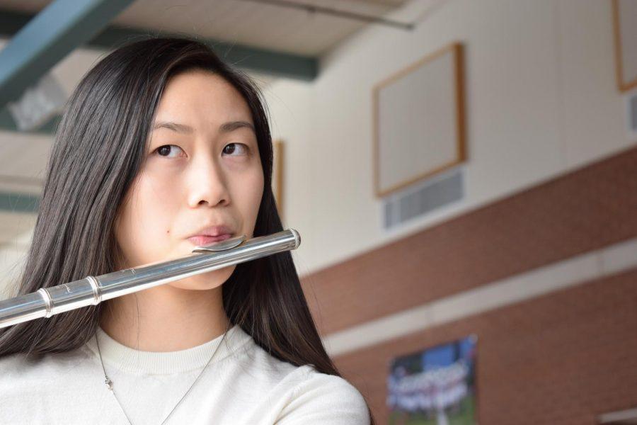 Photo: Flautist Rachel Chen