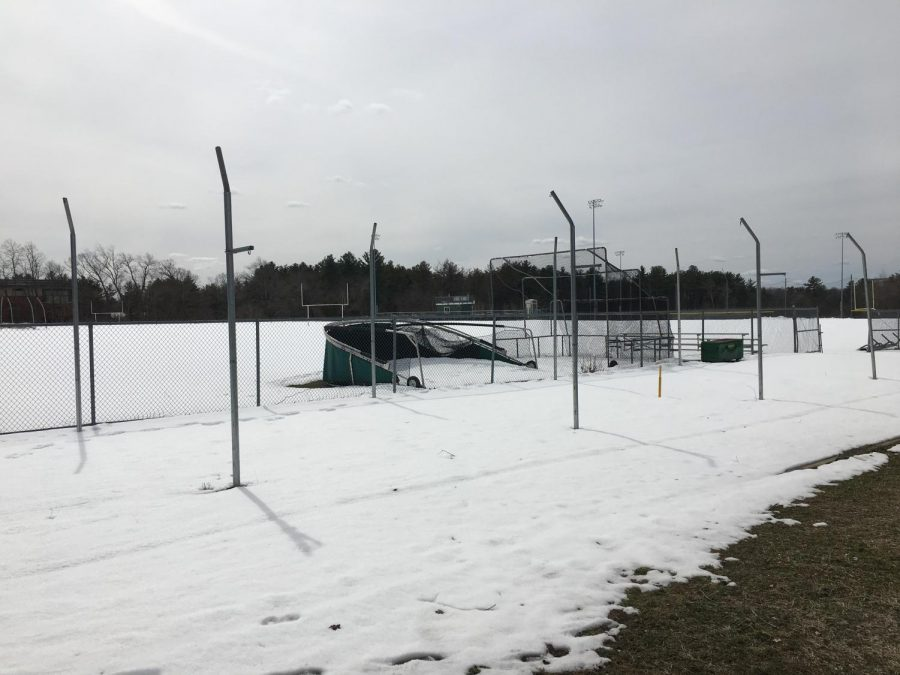 Photo: Snowy Baseball Field will soon be used for action
