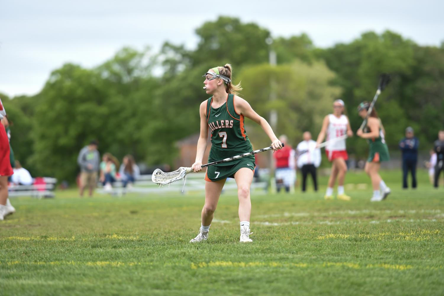 Senior Caroline Murphy was one of the biggest losses for the girl's lacrosse team this season.