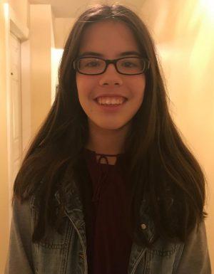 Freshman Cristina Gomez