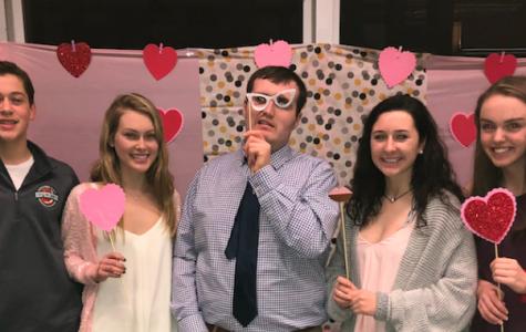 Photo: 2018's Best Buddies Valentines Day dance with Ellis Spar, Sophie Schneider, Liam Finnegan, Tess Papagni, and Alexandra Lee
