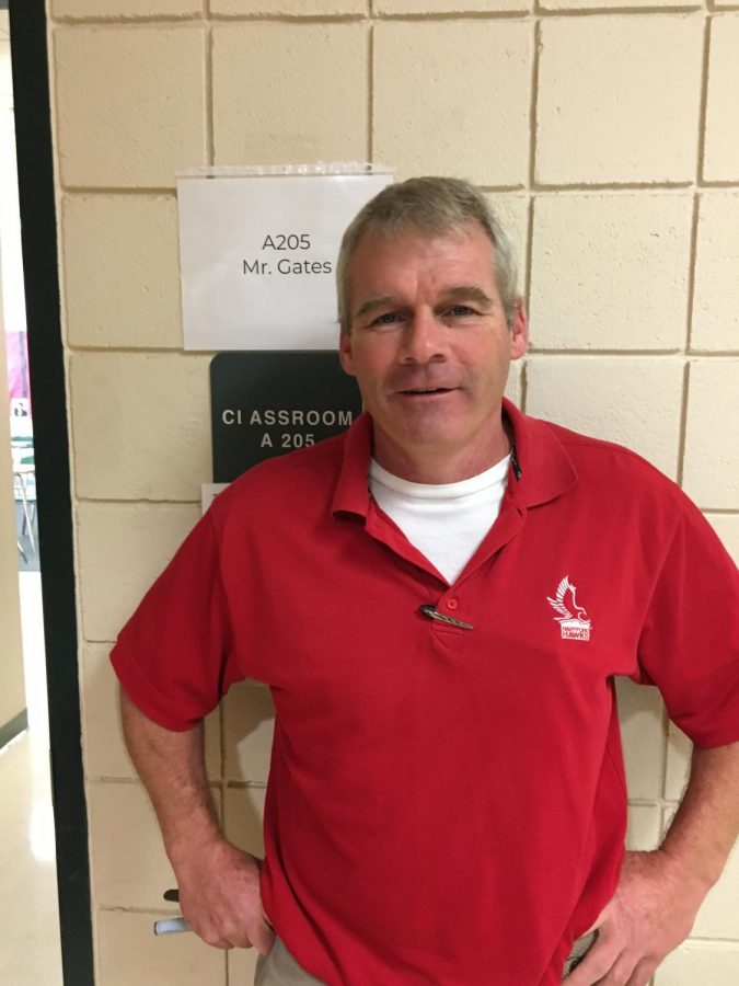Photo: Mr. Gates HHS Teacher