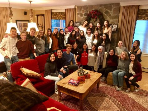 Photo: Hopkinton High Exchange Students