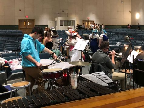 Escape, the HHS Band That Performs at Live shows, and has Lots of fun Doing it