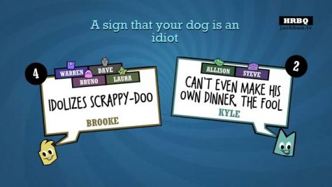 An example of the game Quiplash 2