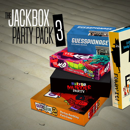 All five of the Jackbox Party Pack 3 games